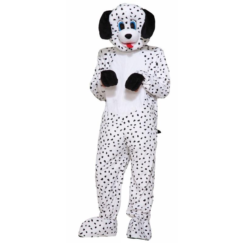 ダルメシアン 着ぐるみ 犬 大人用 コスチューム 写真 2018年 戌年 ハロウィン イベント パーティー 年賀状 戌年