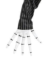 ナイトメアービフォアクリスマス ジャックスケリントン 手袋 グローブ 大人 コスプレ 仮装 ナイトメア