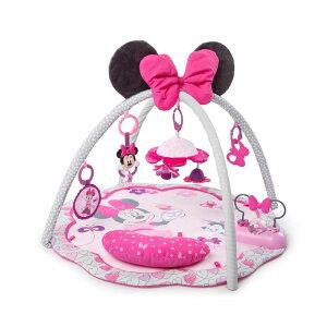 ベビージム プレイマット ミニーマウス ピンク ディズニー 海外 赤ちゃん ベビー おもちゃ 育児 グッズ