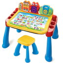Vtech 子供 幼児 知育玩具 英語 数字 アルファベット 学習 アクティビティテーブル