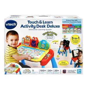 Vtech子供幼児知育玩具英語数字アルファベット学習アクティビティテーブル