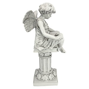読書妖精アート彫刻ホームインテリアエクステリア屋外庭ガーデン飾り石像オブジェ
