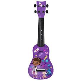 ドックはおもちゃドクター ミニ ギター ウクレレ 4弦 子供 楽器 おもちゃ