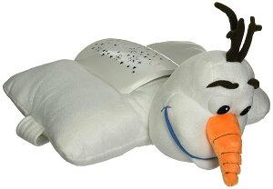 オラフ ぬいぐるみ プラネタリウム クッション 枕 光る 子供部屋 インテリア 寝具