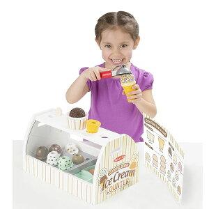 メリッサ&ダグアイスクリーム屋さんごっこ木製おもちゃセットごっこ遊び知育玩具職業体験