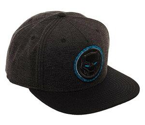 ブラックパンサー キャップ 帽子 スナップバック 黒 アメコミ マーベル ヒーロー グッズ