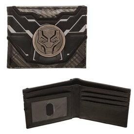 ブラックパンサー 二つ折り財布 マーベル ヒーロー グッズ