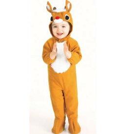 トナカイ コスプレ 子供 クリスマス コスチューム 着ぐるみ フリース風トナカイの衣装