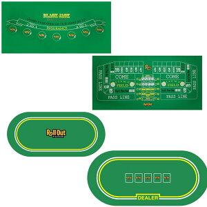 カジノゲームノンスリップゴムフォームテーブルトップレイアウトポーカーブラックジャックルーレットクラップスゲーム