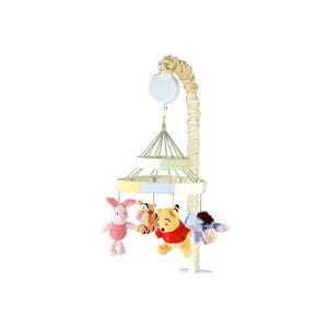 くまのプーさん ベッドメリー オルゴール 回転 新生児 子守唄 出産祝い 赤ちゃん おもちゃ ベビー 通常便は送料無料