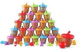 知育玩具 英語教材 アルファベット ドングリ えいごであそぼ 幼児 子供 誕生日 ギフト クリスマス プレゼント
