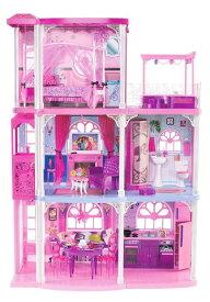 バービー ハウス ドリーム ハウス 3階建て 人形 家 おもちゃ クリスマス プレゼント 誕生日 ギフト ドールハウス