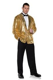 メンズ 派手 な ジャケット きらきら 目立つ ゴールド スパンコール 結婚式 ステージ衣装 芸人 舞台 ディスコ