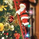 クリスマスオーナメント飾りスーパークライミングサンタホリデーデコレーション
