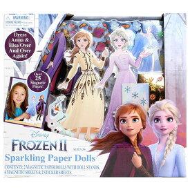 アナと雪の女王 おもちゃ 着せ替え マグネット 人形