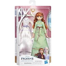アナと雪の女王 人形 アナ ドール グリーンナイトガウン&ホワイトドレス おもちゃ
