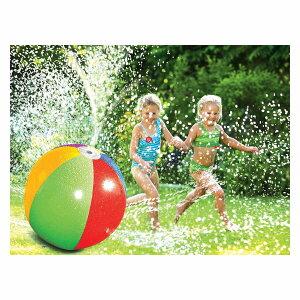 水遊び ビーチボール スプリンクラー 夏 サマー みんなで遊ぶ ベランダ 庭 通常便は送料無料
