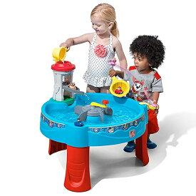 パウパトロール おもちゃ 水遊び 遊具 ステップ2 Step2 ウォーターテーブル 砂場 サンドボックス 子供 野外 屋外 家庭