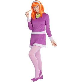 ハロウィン コスプレ スクービードゥー ダフネ レディース 大人 コスチューム 仮装 衣装 ジェニー 通常便は送料無料