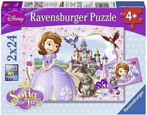 ちいさなプリンセス ソフィア パズル ジグソーパズル ゲーム おもちゃ 子供 女の子 ディズニー Disney Sofia the First