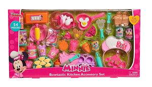 Disney (ディズニー) ミニーマウス ジャンボサイズ お料理セット おままごとセット ボウタスティックキッチンアクセサリーセット フライパン ケーキ ドリンク 子供用 女の子用