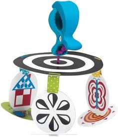 ベビーカー チャイルドシート用 おもちゃ モビール メリー 赤ちゃん用 おでかけ 発達玩具 知育玩具 Manhattan Toy ウィマー・ファーガソン 通常便は送料無料