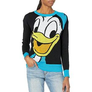 アグリーセーター クリスマス ディズニー 女性 ニット 大人 ドナルドダック セーター パーティー ダサい 可愛い キャラクター 通常便は送料無料