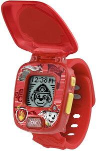 パウパトロール ラーニングウォッチ マーシャル レッド 時計 アラーム タイマー ストップウォッチ 4種のゲーム 通常便は送料無料