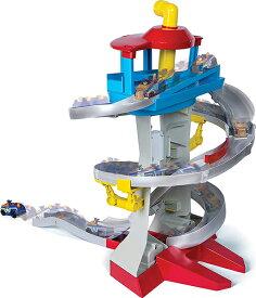 クリスマスプレゼント 子供 パウパトロール おもちゃ トゥルー メタル アドベンチャー ベイ レスキュー ウェイ プレイセット 専用車両2台 1:55スケール 通常便は送料無料