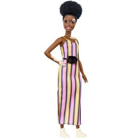 バービー 人形 フィギュア ファッショニスタ 135 人形 白斑 カーリーブルネット 海外版 Barbie 通常便は送料無料