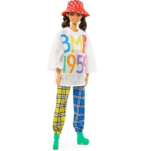 バービー 人形 フィギュア BMR1959 フルポーズ可能 ファッションドール ブルネット 30cm 人形 海外版 Barbie 通常便は送料無料