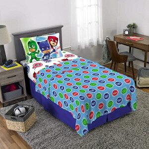 しゅつどう パジャマスク ベッドシーツ 3点セット ツイン シングル 寝具 インテリア 子供部屋 デコレーション ディズニーチャンネル キャラクター グッズ