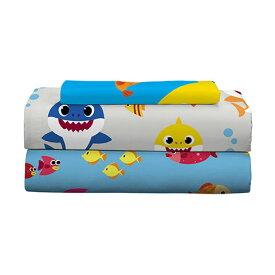 ベイビーシャーク シーツ セット シングルサイズ 子供 寝具 3点セット サメのかぞく キッズ 子供部屋 通常便は送料無料
