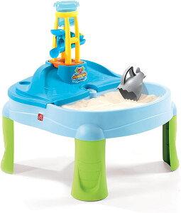 Step2 Splash 砂場 砂遊び スタンドウォーターテーブル 家庭用 遊具 海外 子供 おもちゃ