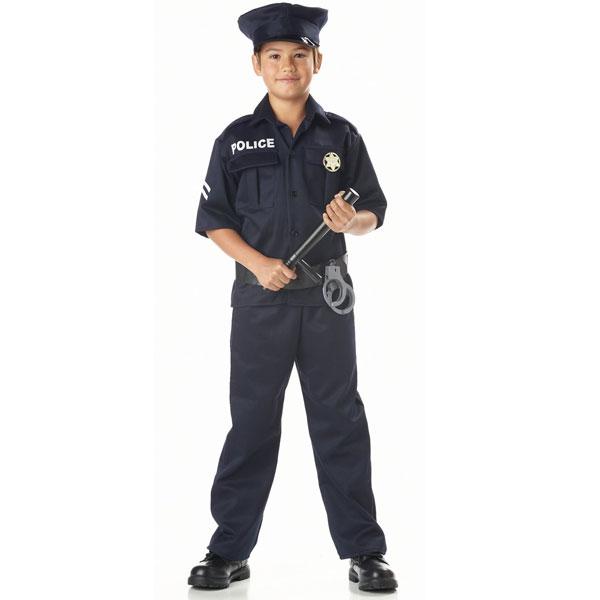 警察 制服 コスチューム 子供 男の子 衣装 ハロウィン コスプレ 仮装 あす楽