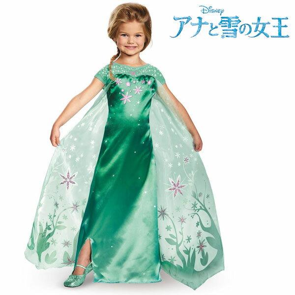 ディズニー コスチューム 子供 アナと雪の女王 エルサのサプライズ ドレス エルサ 女の子用 プリンセス ハロウィン 仮装 コスプレ