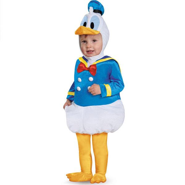 ディズニー ドナルドダック ドナルド コスチューム 着ぐるみ 赤ちゃん用 ハロウィン コスプレ コスチューム 衣装 グッズ あす楽