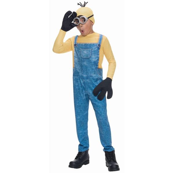 ミニオン コスプレ コスチューム 子供 男の子用 衣装 映画 ミニオンズ 怪盗グルー キャラクター なりきり キッズ 仮装 グッズ あすつ