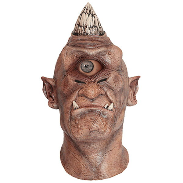 鬼 マスク ホラー 動く 眼球 マスク 一つ目 肝試し 目が動く ハロウィン コスプレ パーティー
