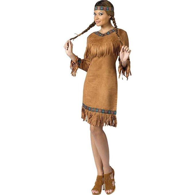 インディアン コスチューム コスプレ 衣装 大人 女性 ネイティブアメリカン 民族 ハロウィン 仮装 あす楽