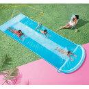 プール水遊び子供ダブルウォータースライダー6M家庭用ボディボード付きすべり台スプリンクラー大型遊具通常便は送料無料