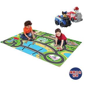 パウパトロール おもちゃ プレイマット 道路 キャラクターミニカー 車 遊べる ラグ 155x119cm 耐水性 耐久性 防汚性 子供部屋 おしゃれ じゅうたん 通常便は送料無料