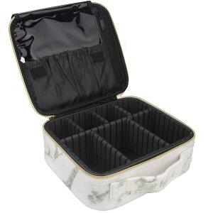 トラベル グッズ メイク ケース コスメティック 持ち運び かばん ポーチ オーガナイザー ポータブル アーティスト メイクブラシ 化粧品 収納 バッグ 調節可能な仕切り付 旅行 用品 通常便は