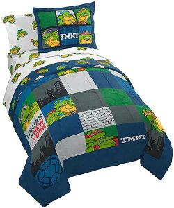 ミュータントタートルズ シーツ 寝具 7点 セット 忍者 タートルズ 子供 男の子 ダブル フルサイズ 布団 子供部屋 ベッド キャラクター 通常便は送料無料