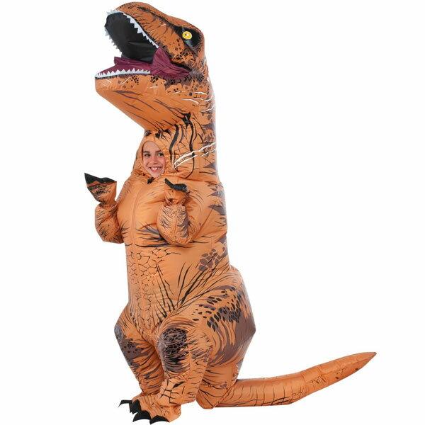 ジュラシック ワールド T-Rex 子供用 コスチューム ハロウィン 恐竜 ティラノサウルス レックス あす楽