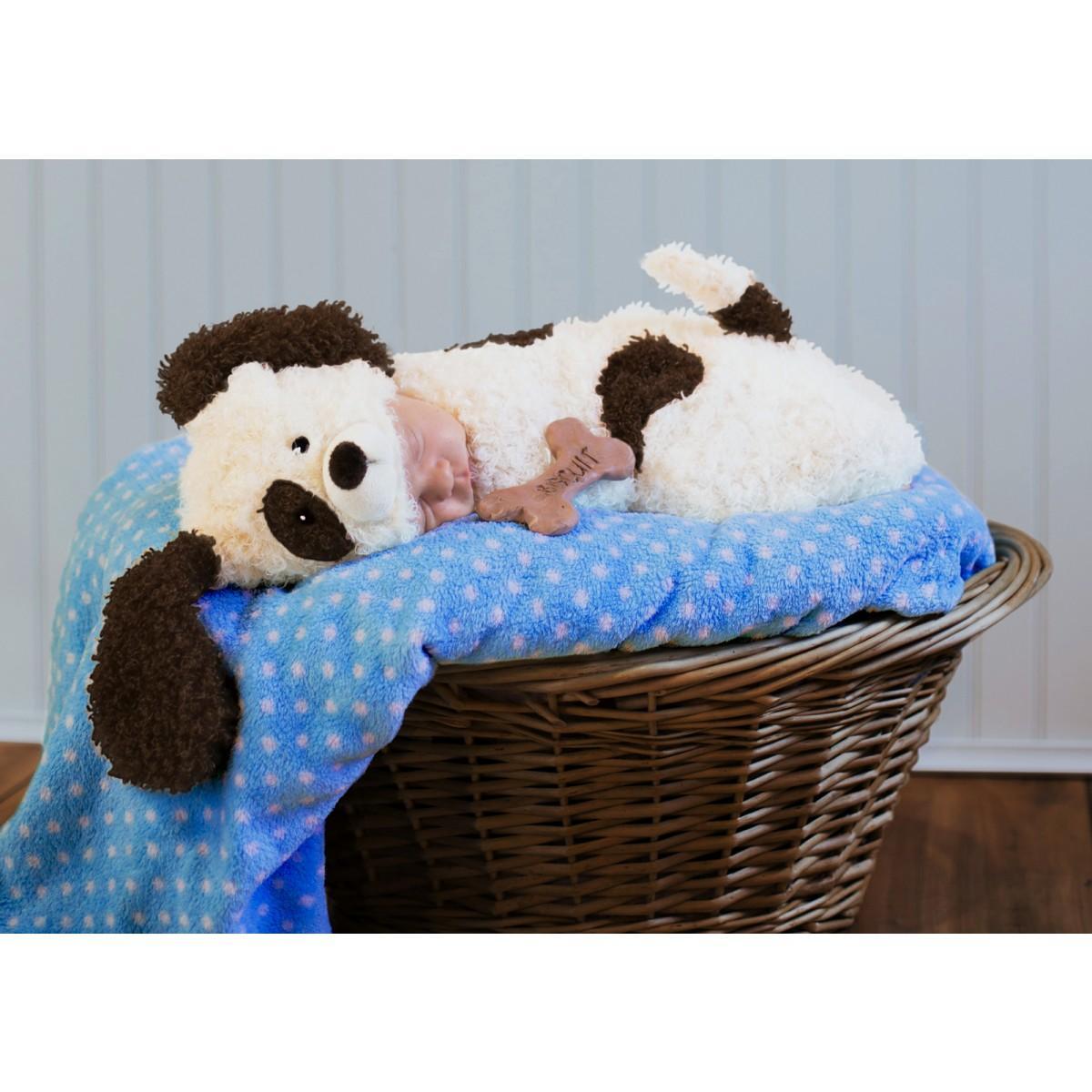 赤ちゃん ベビー 可愛い コスチューム パピー 子犬 動物 おくるみ 着ぐるみ カドリー ハロウィン コスプレ コスチューム 衣装 グッズ 年賀状 戌年