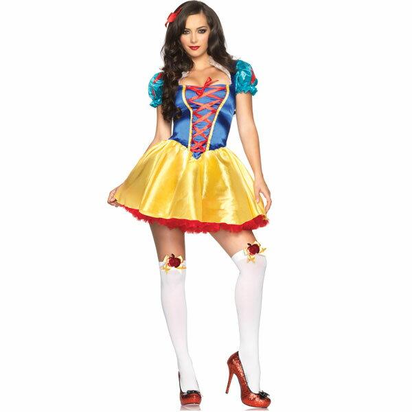 白雪姫 コスチューム 大人 女性用 衣装 ディズニー プリンセス コスプレ 仮装 ハロウィン