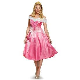 16579beebc8b3 ディズニー プリンセス コスチューム 大人 眠れる森の美女 オーロラ姫 女性用 コスプレ 衣装 レディース ドレス