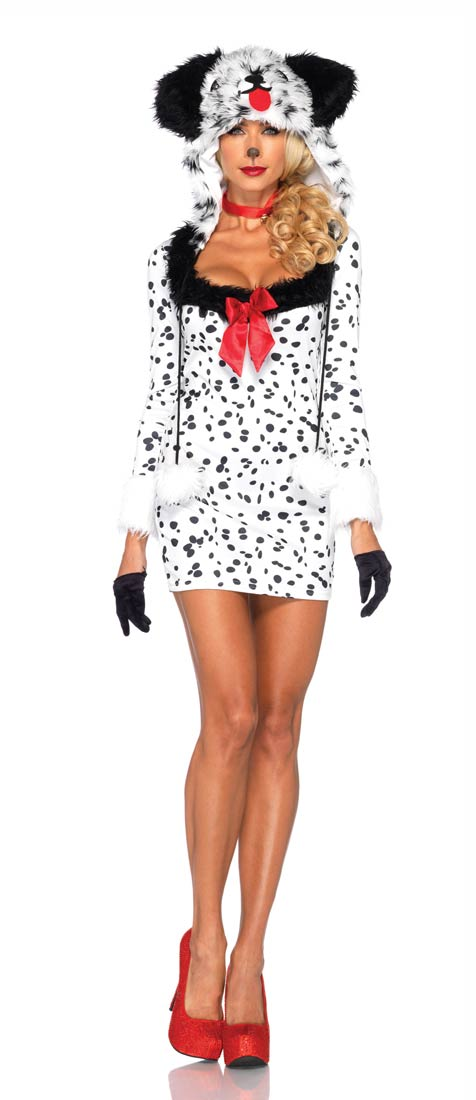 ハロウィン 101匹わんちゃん ダルメシアン コスチューム 着ぐるみ コスプレ 仮装 変装 犬 動物 大人 女性 あす楽 年賀状 戌年
