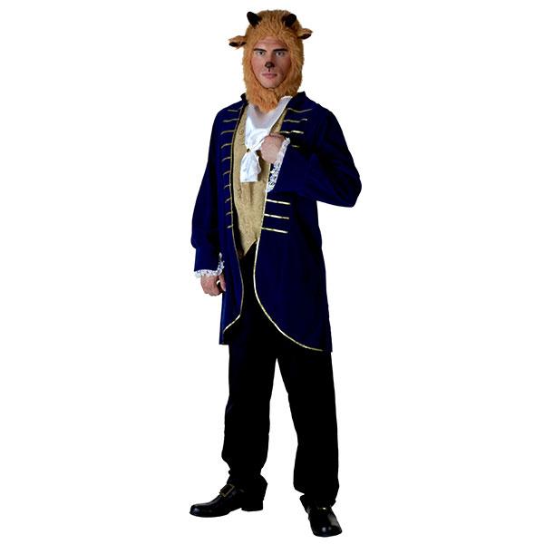 ディズニー コスチューム 大人 美女と野獣 野獣 ビースト 男性用 おとぎ話 絵本 ストーリーブック ハロウィン コスプレ 衣装 グッズ